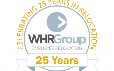 WHR Group Employee Relocation Celebrates 25th Anniversary
